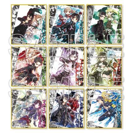 (MD) Sword Art Online - Memorial Trading Mini Shikishi
