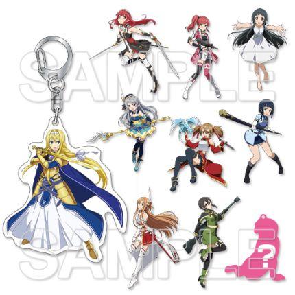 (MD) Sword Art Online Alicization Trading Heroine Key ring (All Heroine1)