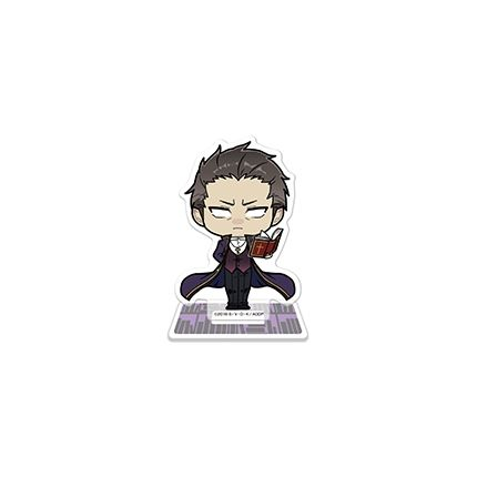 (MD) Satsuriku no Tenshi - Acrylic Stand ~Time for Reading~ Gray