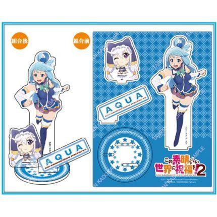 (MD) Konosuba Acrylic Stand - Aqua