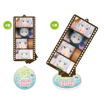 (MD) Ero Manga Film Style Acrylic Standee Charm B - Izumi Sagiri