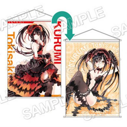 (MD) Date A Live 2 side Tapestry - Tokisaki Kurumi