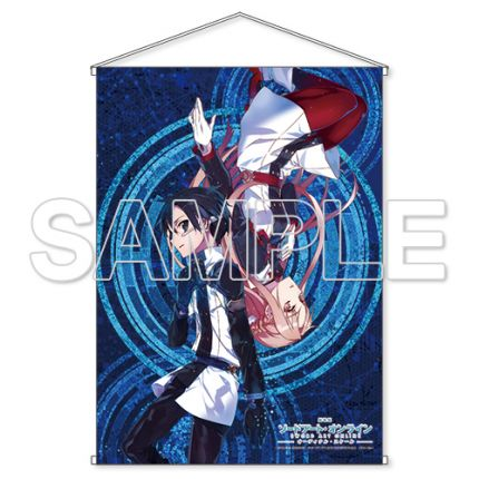 (MD) Sword Art Online Ordinal Scale Double suede Tapestry [Movie version]