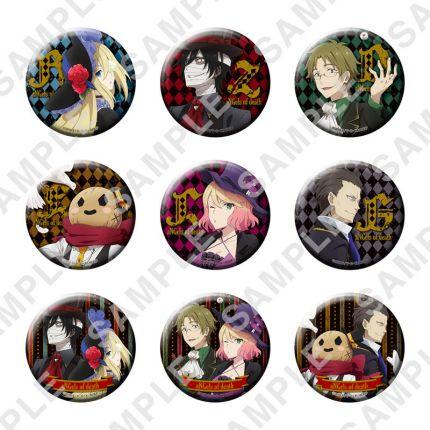 (MD) Satsuriku no Tenshi - Button Badge Ver.Circus Troupe
