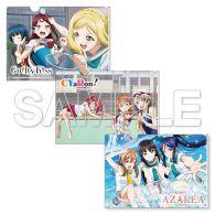 (MD) Love Live! Sunshine!! Clear File Folders set - Unit Ver.