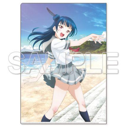 (MD) Love Live! Sunshine!! Clear File Folder season 1 - Tsushima Yoshiko
