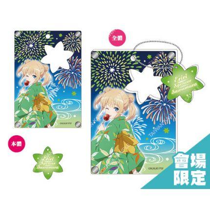 (MD) Saekano Acrylic Pass Case Yugata - Sawamura Supencer Eriri