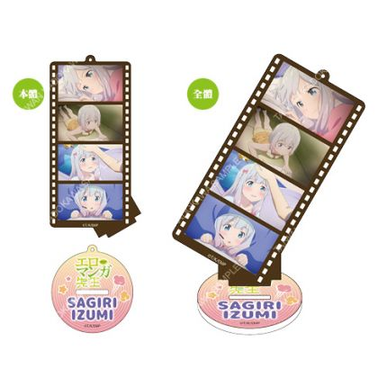 (MD) Ero Manga Film Style Acrylic Standee Charm A - Izumi Sagiri