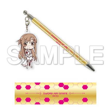 (MD) Sword Art Online Acrylic Charm Pen - Asuna