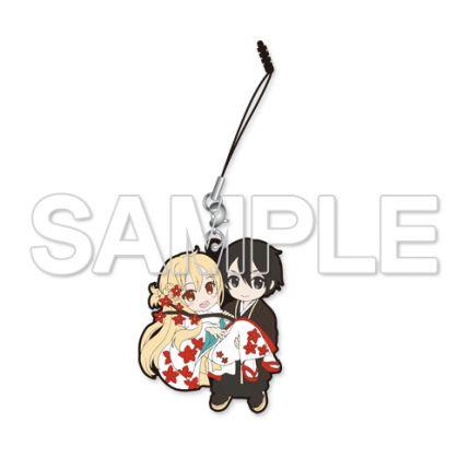 (MD) Sword Art Online Rubber Strap pair - Kirito&Asuna [Kimono Ver.]
